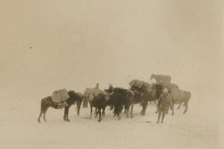 Camping in Alaska, 1926