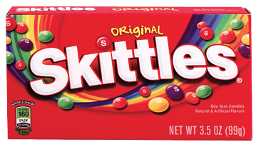 "Trick or Treat:  ""Skittles!"" —Greer ""She is the candy queen."""