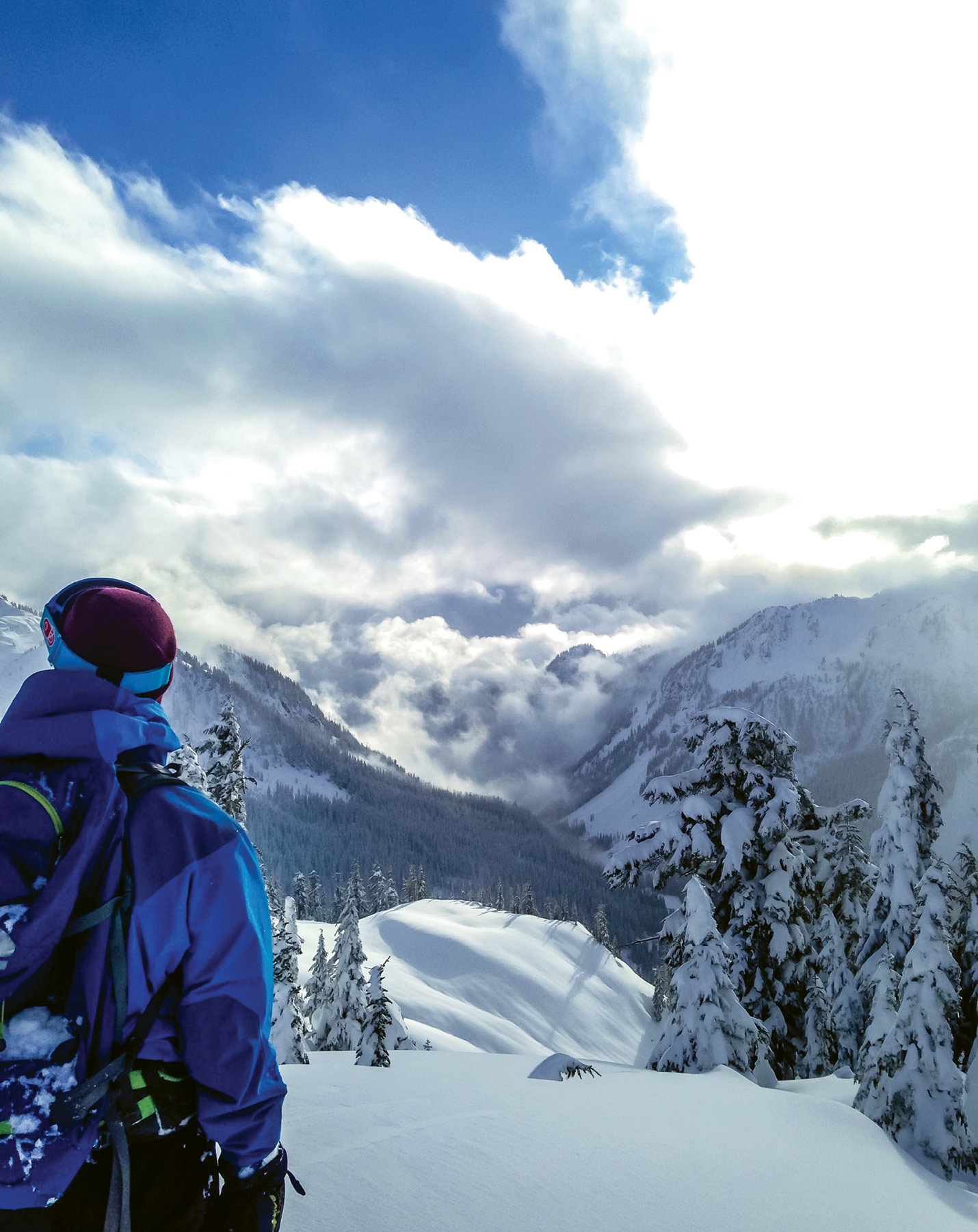Powder Stash: Mount Baker is a true locals' ski mountain, but they'll make you feel welcome if you're willing to trek through the rainforest from Bellingham to these legendary steep slopes with famously soft snow.