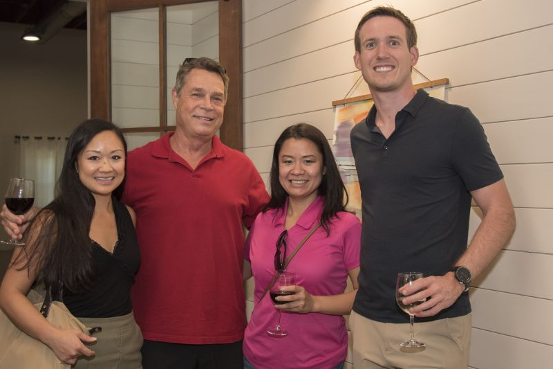 Vy Doan, Bobby Shealy, Vanessa White, and Kyle Boggs