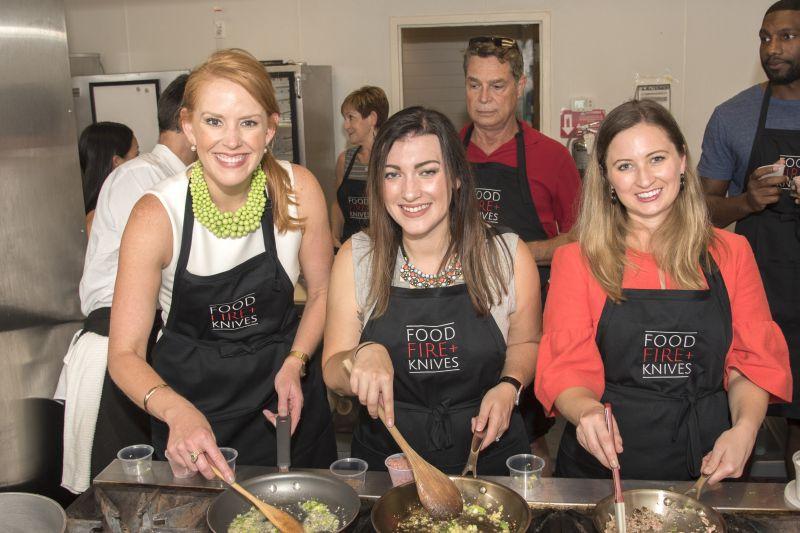 Meredith Siemens, Monica Horne, and Lauren Kuhn