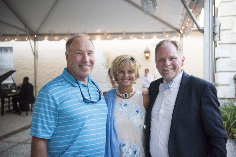Joe Delamielleure, and Amy and Brian Brennan