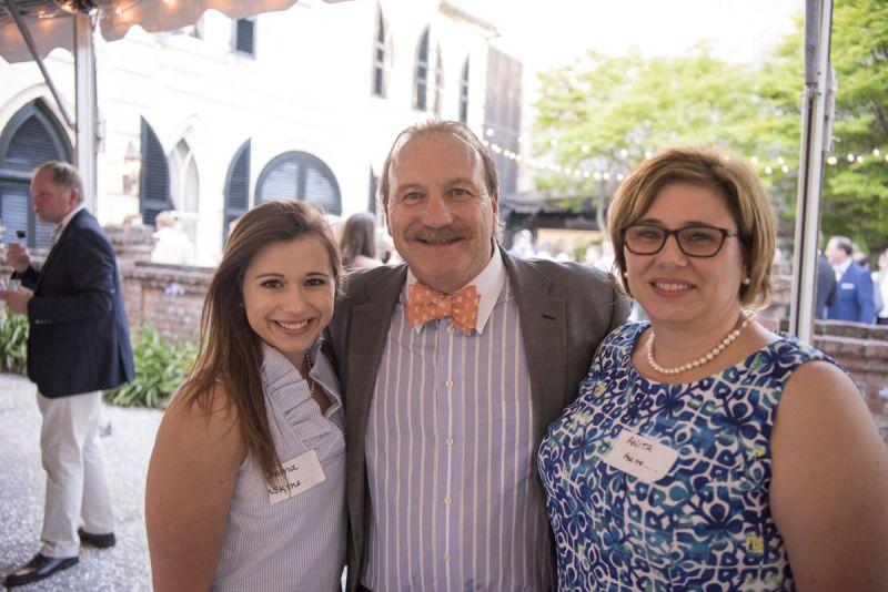 Emma Shuler, Vice President of Positive Strides Dennis Brant, and Anita Shuler