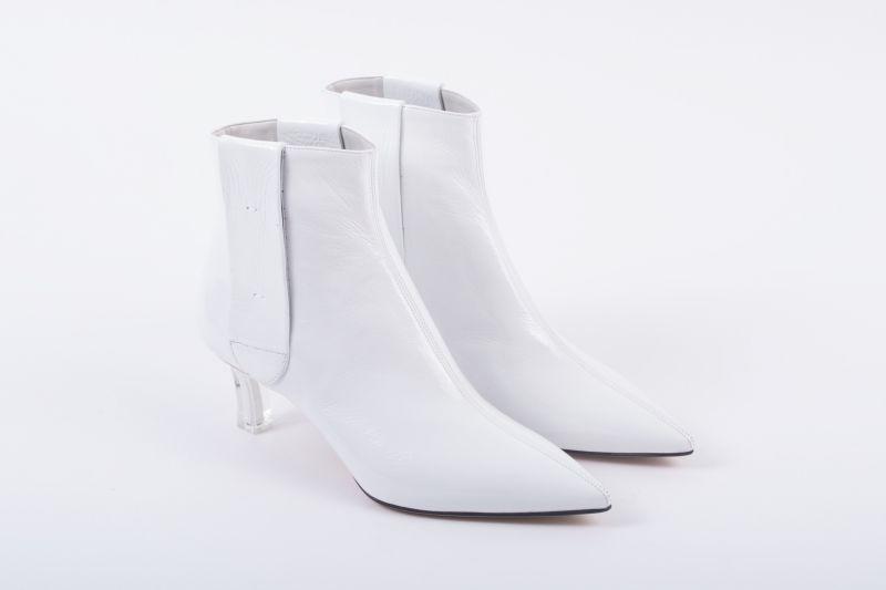 "Casadei ""Plexi Blade"" boot, $1,090 at Gwynn's of Mount Pleasant"
