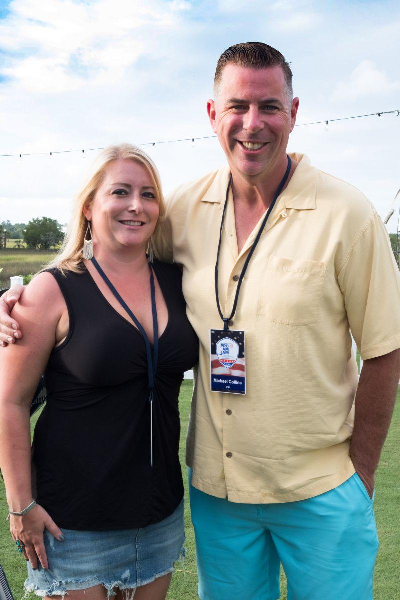 Victoria and Michael Collins