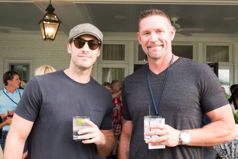Ray Boudreaux and Aubrey Huff