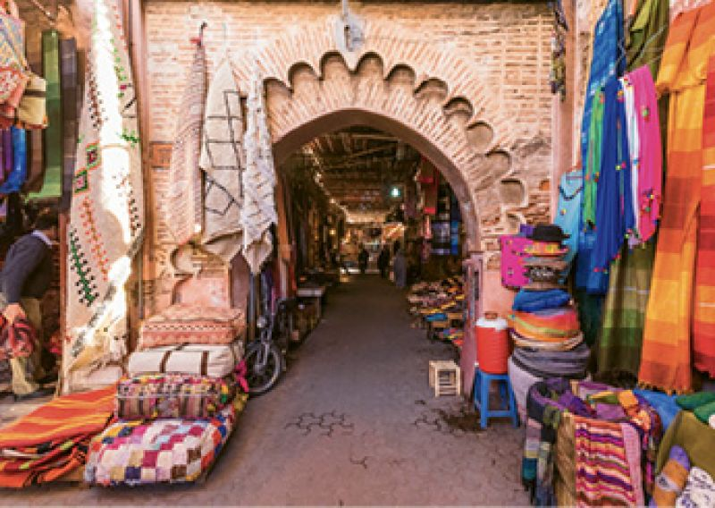 """Dream Destination: """"I'm dying to see Patagonia or Morocco. So much of my travel is food-related."""""""