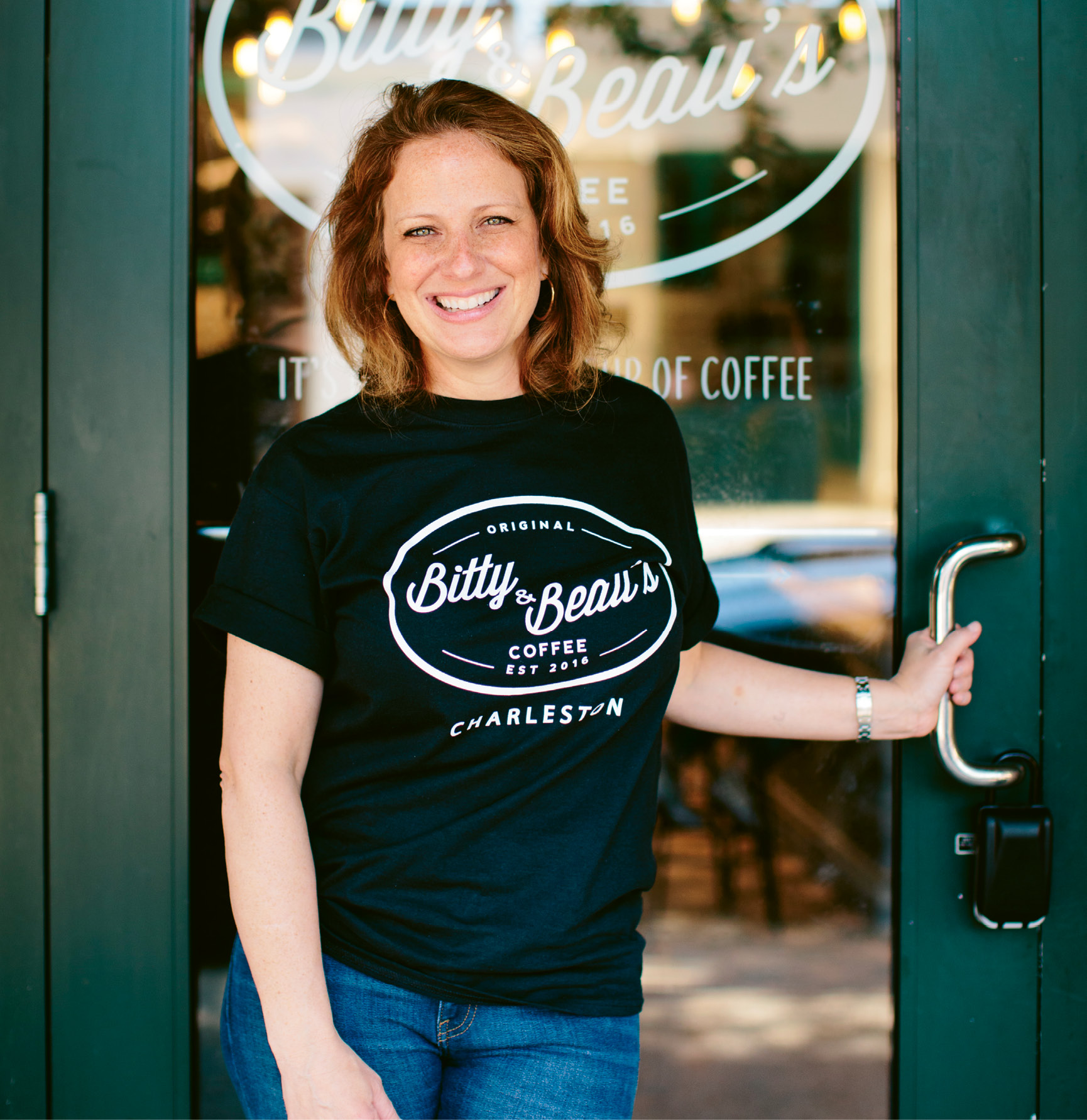 Amy Wright travels often from Wilmington to downtown Charleston to lead her team at Bitty & Beau's on Church Street.