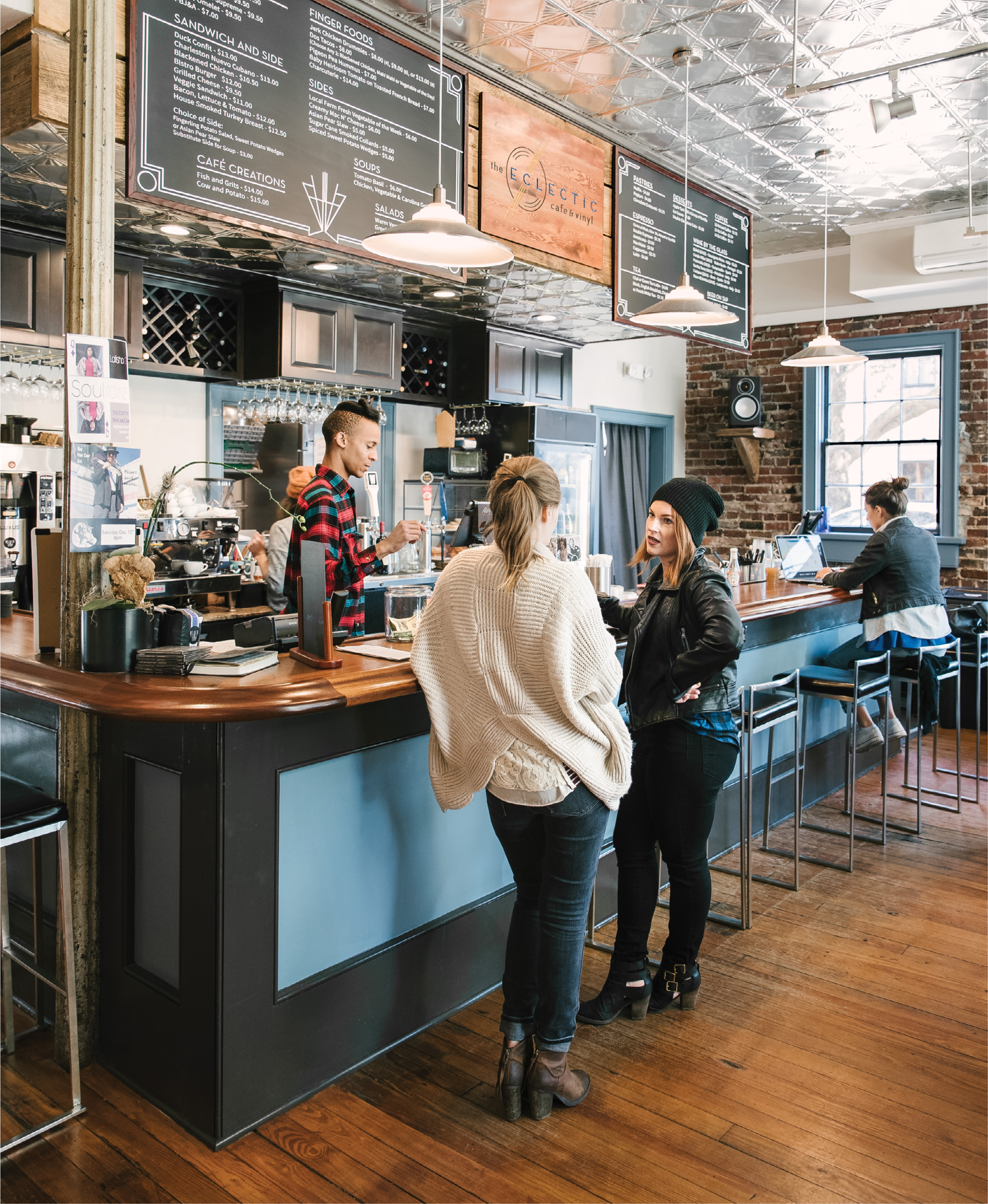 Culture Club: In downtown's Cannonborough/Elliotborough hood, The Eclectic Café & Vinyl pulls in a unique assemblage of music buffs and millennials who appreciate solid brews and good tunes.
