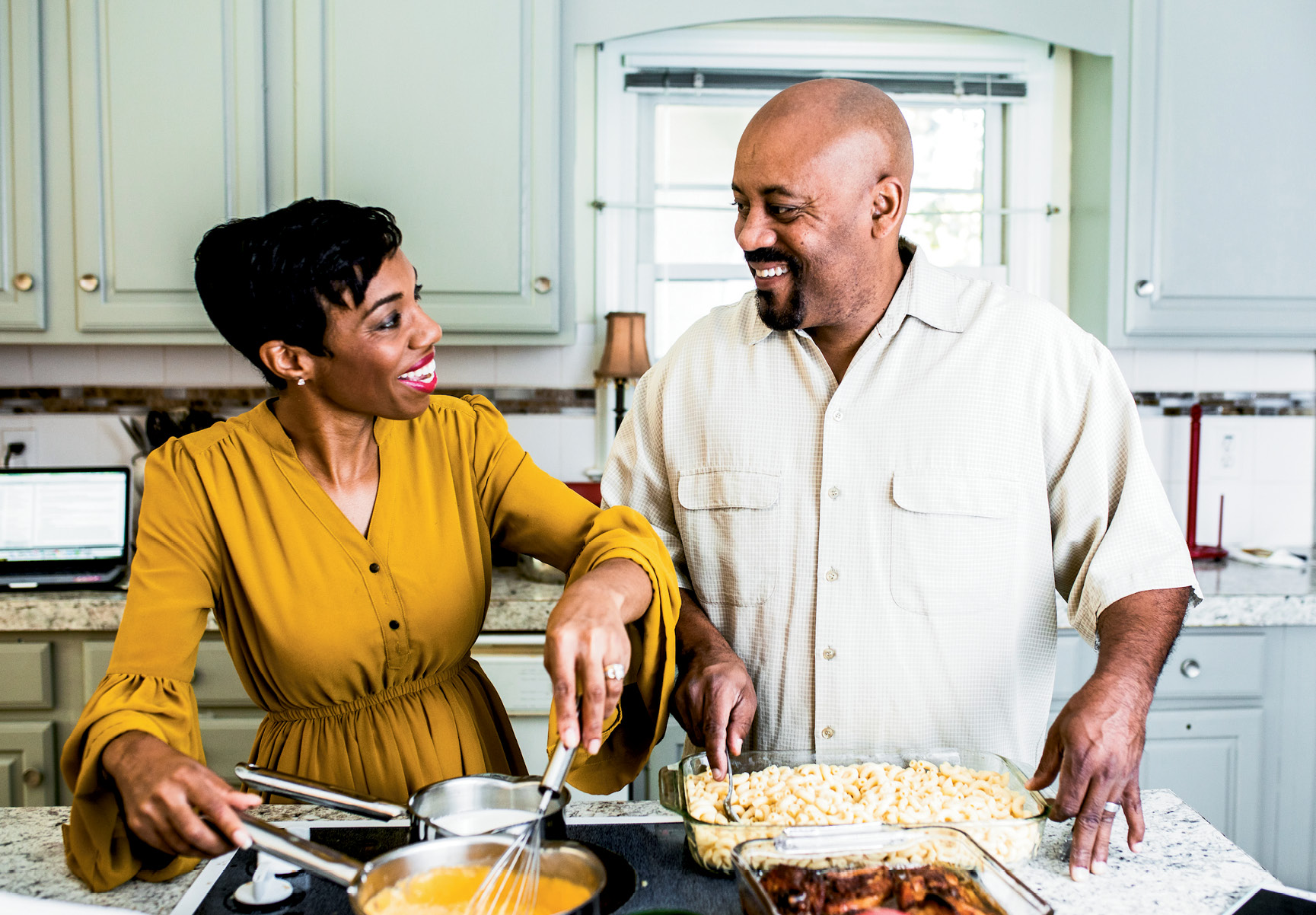 Monique and Chevalo Wilsondebriano met in New York, but they've found a home—and a burger following—in the Charleston community.