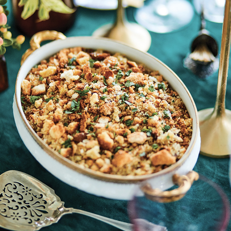 Lowcountry Oyster Stuffing from Hamby Catering