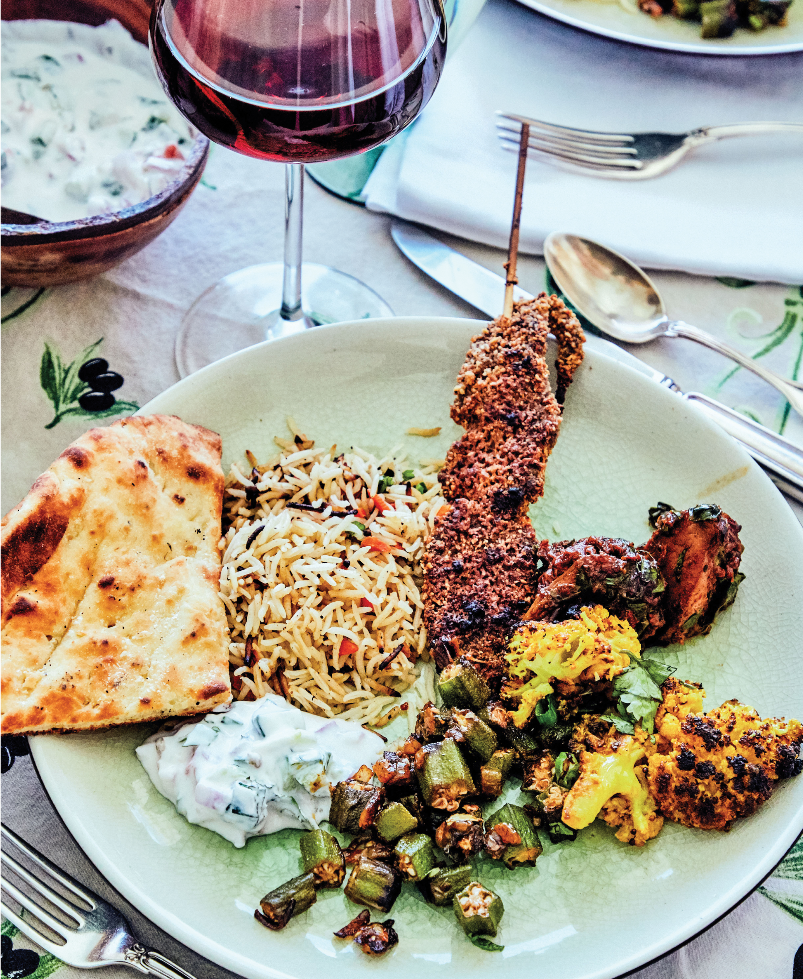 A coalescing of flavors from Nigeria and India