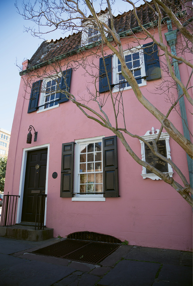 The Pink House today