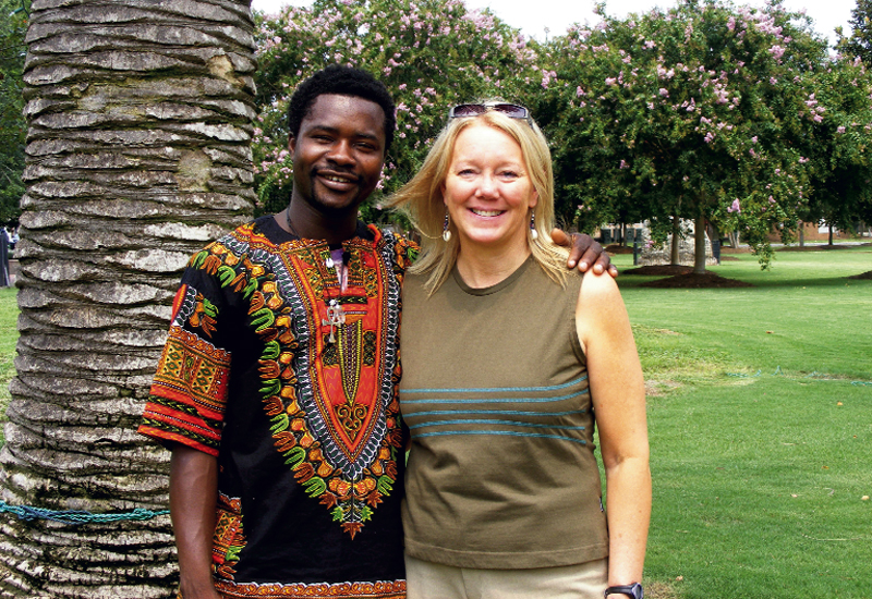 """Samuel Nkrumah Yeboah, whose name means """"powerful"""" in Ashanti, and Swenson in West Africa"""