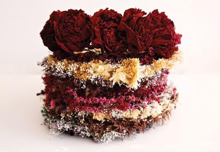 Flowershop dried flower crowns