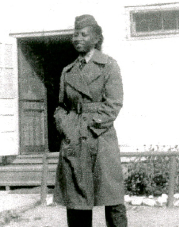 Martin-Carrington in the Army in 1950
