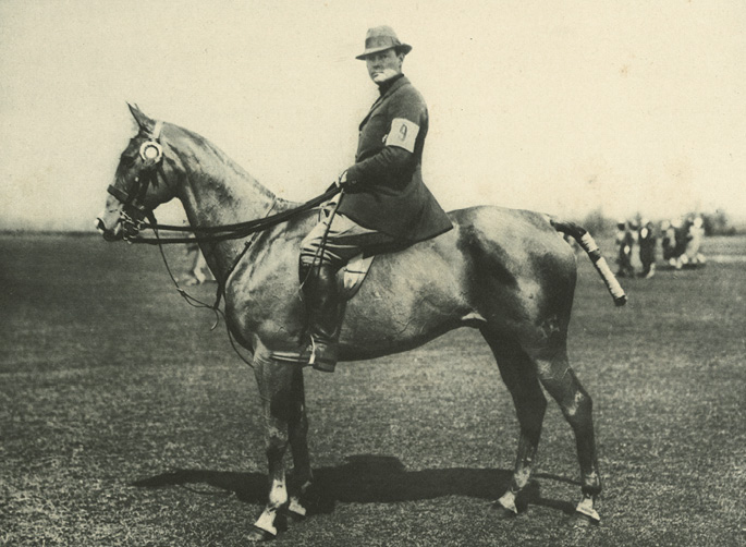"Her brother, Stephen (aka ""Laddie"") became a renowned polo player"