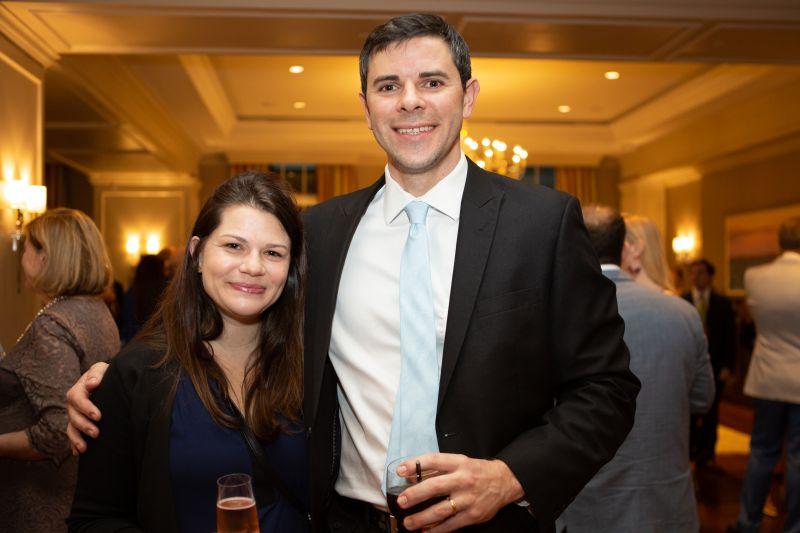 Amanda Baker and Will Kalivas