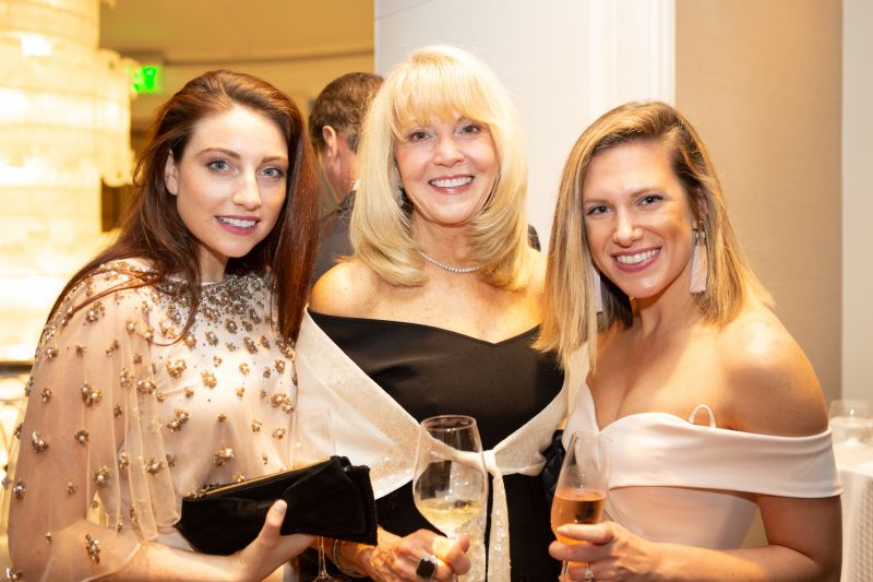 Courtney and Laura Lemenze with Julia Foxworth