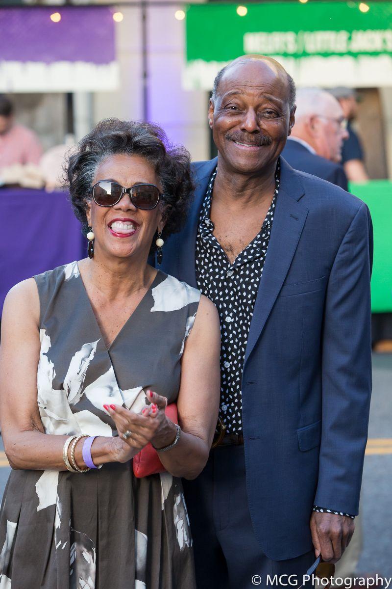 Theresa and Roy Green