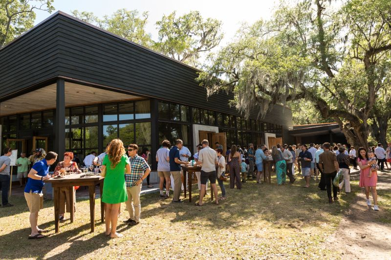 Middleton Place served as the perfect setting for the outdoor event.