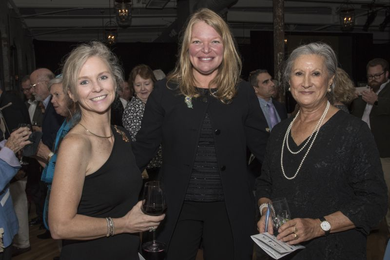 Caroline Lesesne, Wendy Kopp, and Lorraine Perry