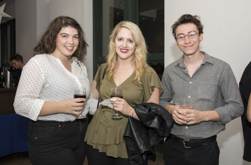 Courtney Pourciaux, Tiffany Gammell, and Tyler Sim