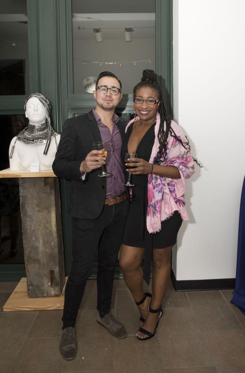 Jonathan Lovett and Aisha Kenyatta of Sweet Potato