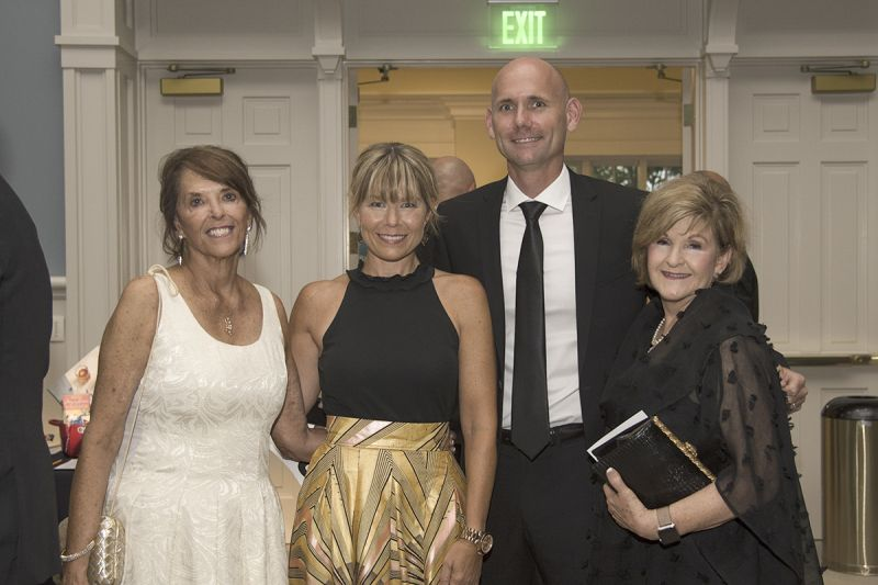 LOR Founder Lynn Young with board members Liz and Brown Rollins and Deb Hargrove