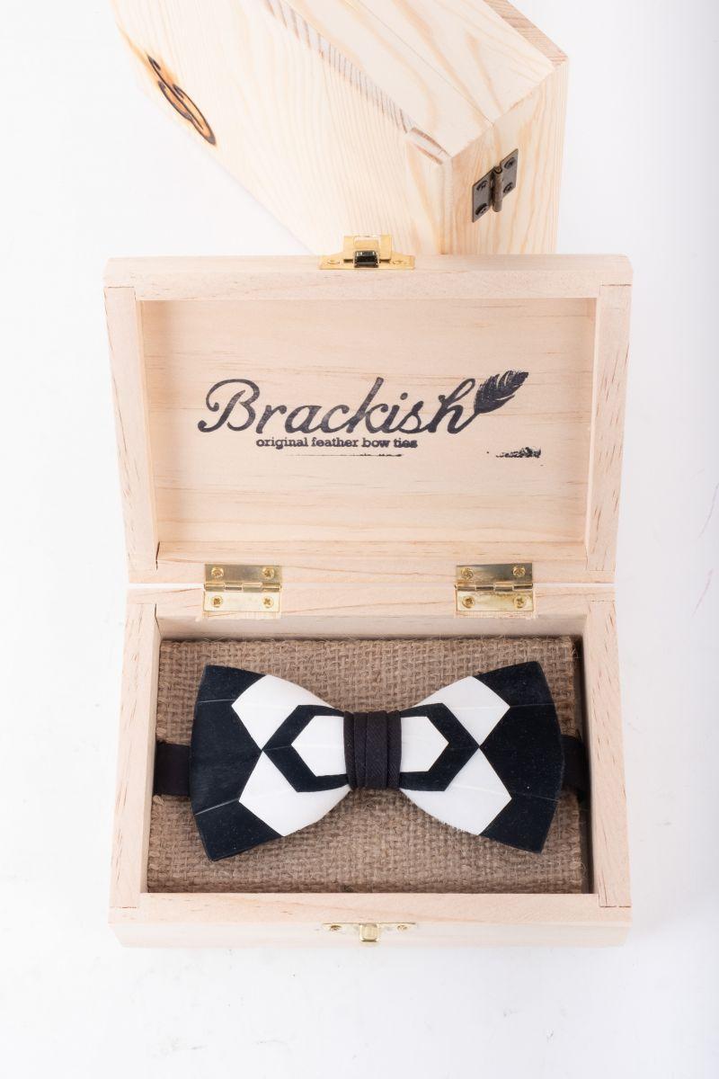 "Brackish ""Whitehall"" bow tie, $225 at Grady Ervin & Co."