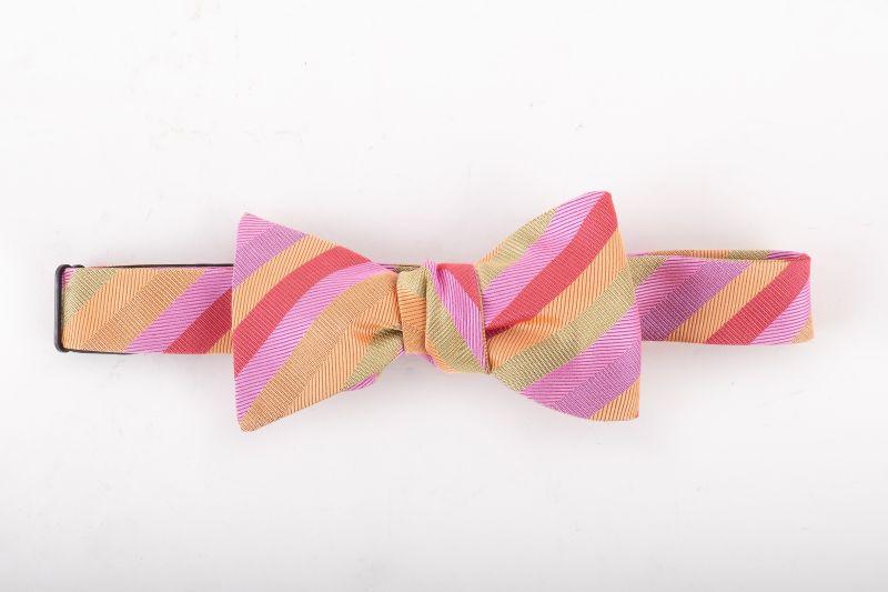 "Peter Blair ""Brandon"" woven silk bow tie, $70 at Jordan Lash"