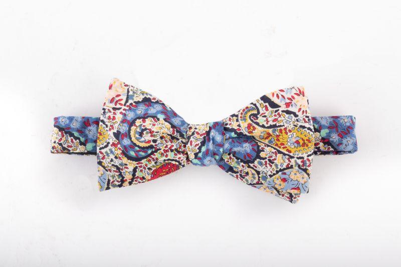 "Trumbull Rhodes ""Buckingham"" bow tie, $65 at Jordan Lash"