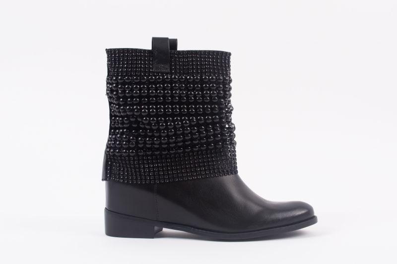 "Schutz ""Annik"" boot, $320 at Shoes on King"
