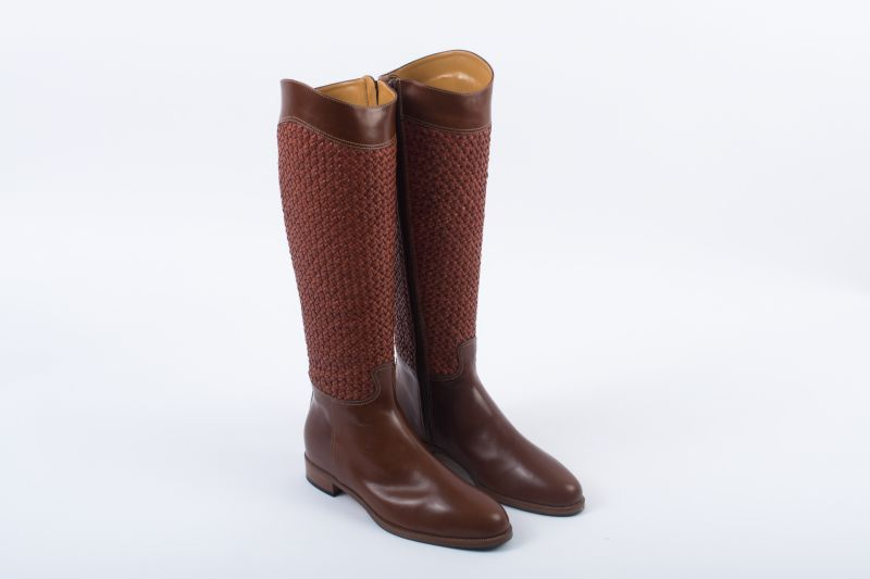 """Ron White """"Delacy"""" handwoven leather boot, $1,295 at Gwynn's of Mount Pleasant"""