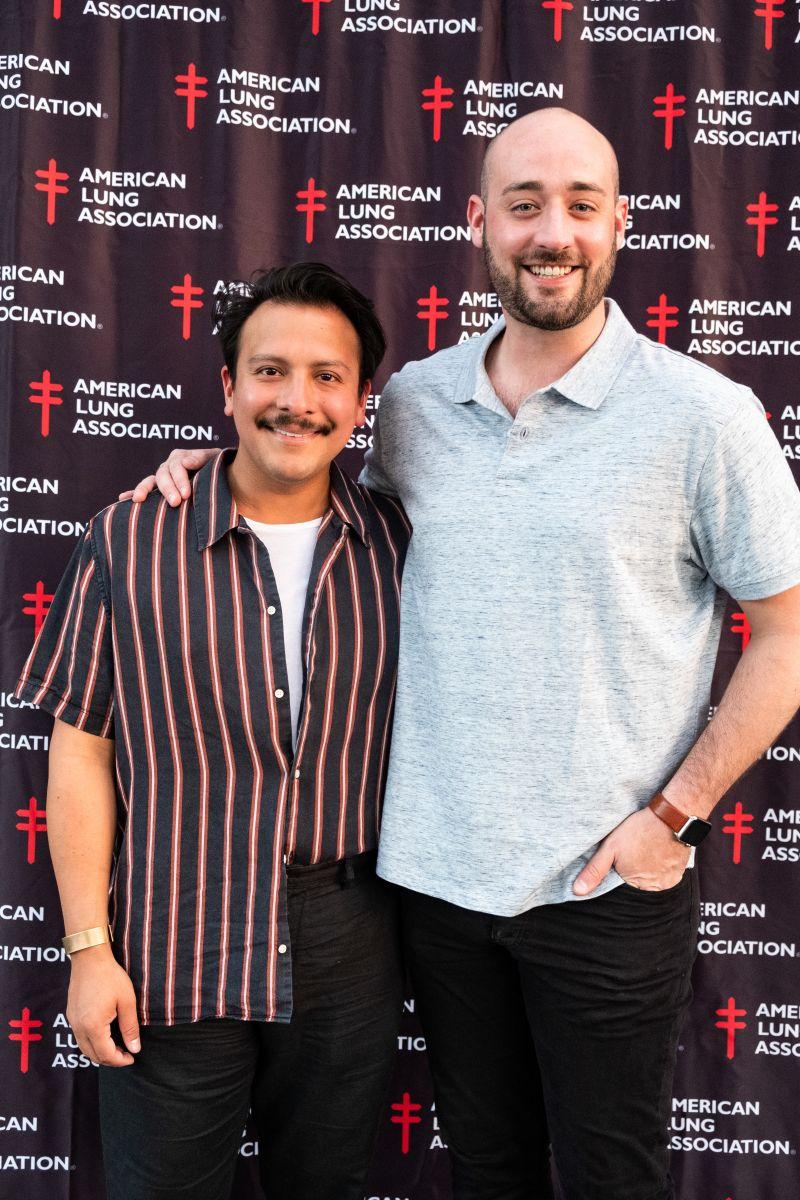 Ian Palacios and Michael Stettner