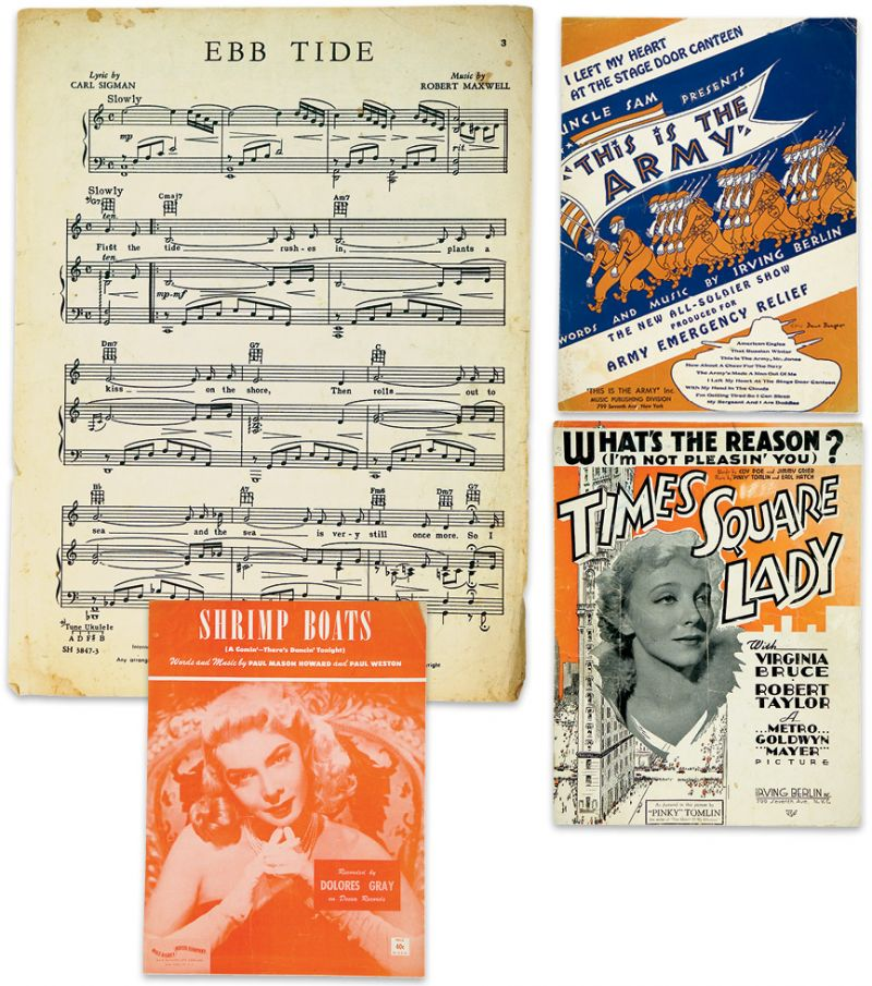 Sheet music from the West Ashley hot spot's heyday