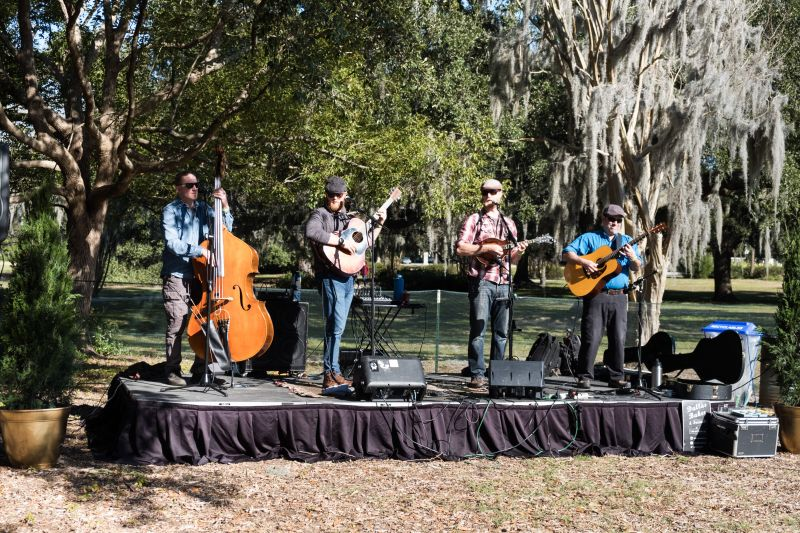 Dallas Baker and Friends kept things lively with upbeat country tunes.