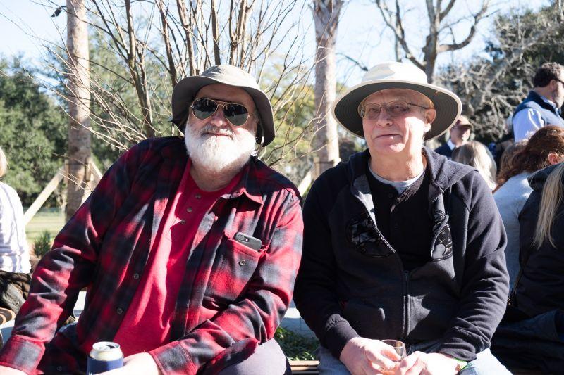 Tersh Harley and Paul Luman