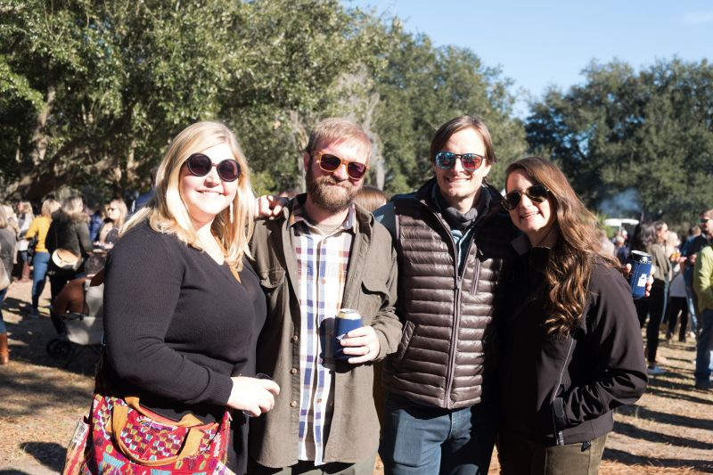 Cate and Andy Mortensen, Matt Green, and Tiffany Ehrhart
