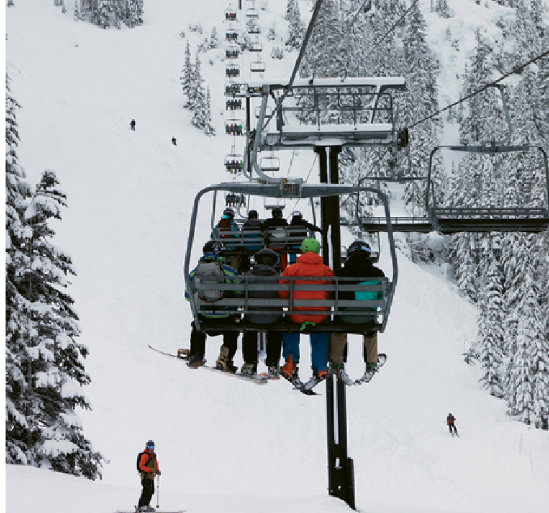 The old-school chairlift