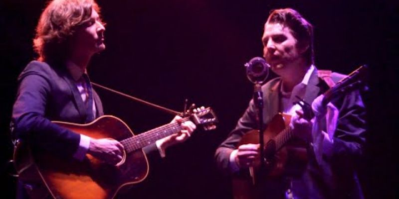 "Embedded thumbnail for ""A Sea of Roses"" by The Milk Carton Kids 